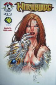 Witchblade #116 Wizard World Los Angeles Silvestri Variant Top Cow comic book